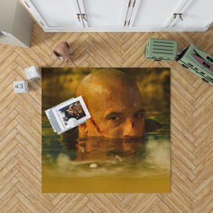 Vin Diesel in Riddick Movie Bedroom Living Room Floor Carpet Rug 1