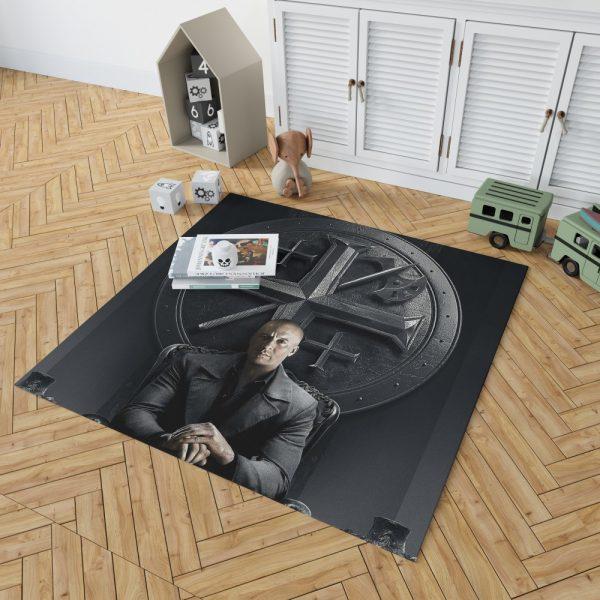 Vin Diesel in The Last Witch Hunter Movie Bedroom Living Room Floor Carpet Rug 2