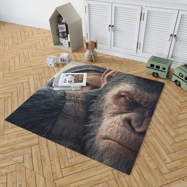 War For The Planet Of The Apes Bedroom Living Room Floor Carpet Rug 2