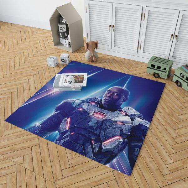 War Machine Don Cheadle James Rhodes Bedroom Living Room Floor Carpet Rug 2