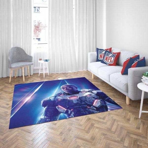 War Machine Don Cheadle James Rhodes Bedroom Living Room Floor Carpet Rug 3