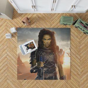Warcraft Movie Armor Brunette Bedroom Living Room Floor Carpet Rug 1