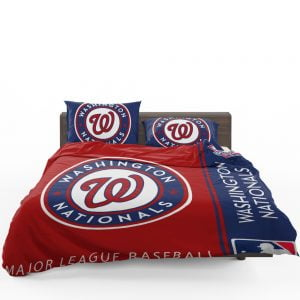 Washington Nationals MLB Baseball National League Bedding Set 1