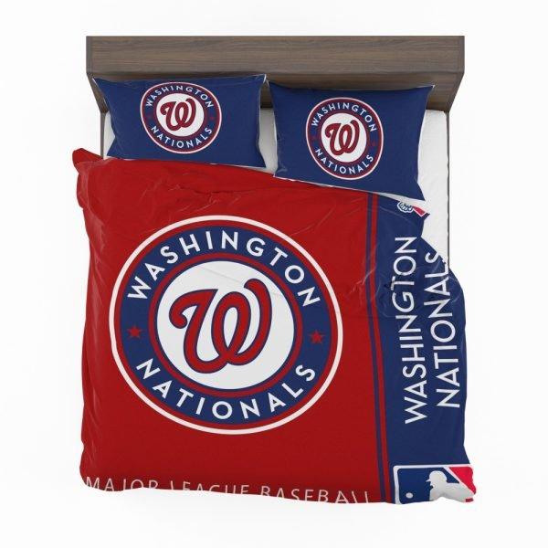 Washington Nationals MLB Baseball National League Bedding Set 2