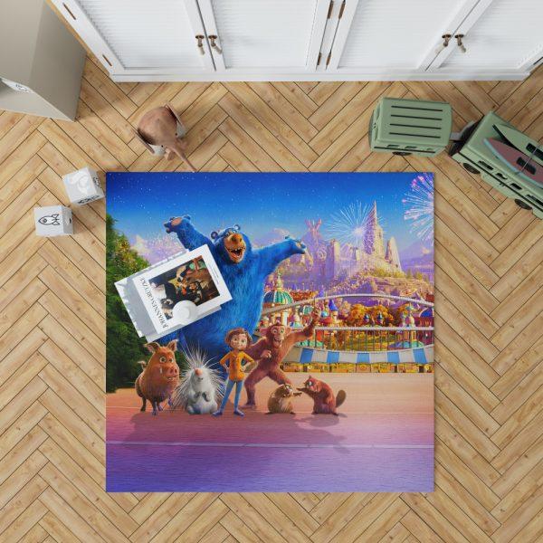 Wonder Park Movie Paramount Animation Bedroom Living Room Floor Carpet Rug 1
