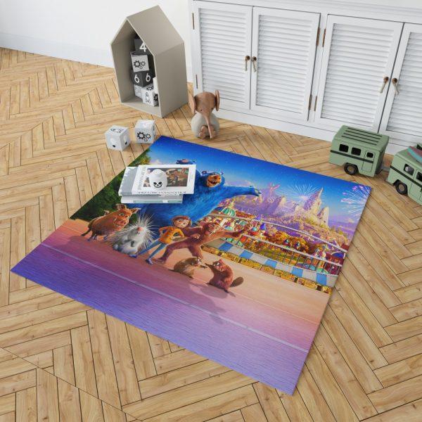Wonder Park Movie Paramount Animation Bedroom Living Room Floor Carpet Rug 2