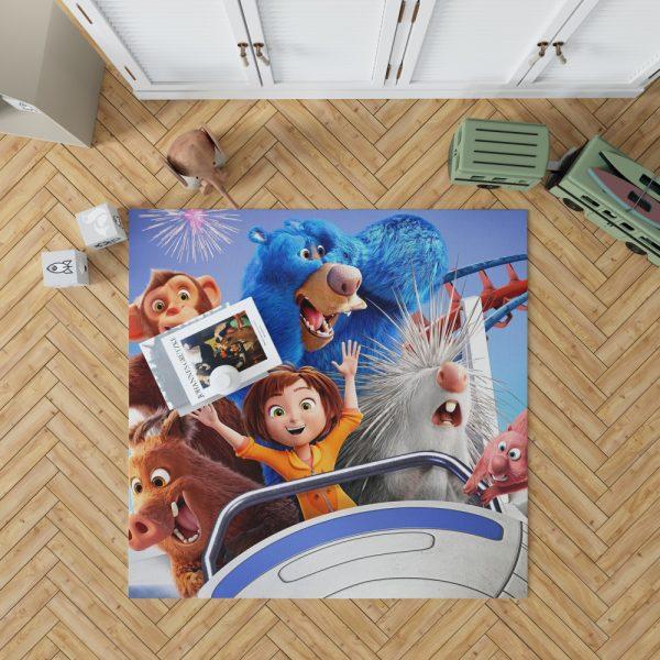 Wonder Park Movie Teens Bedroom Living Room Floor Carpet Rug 1