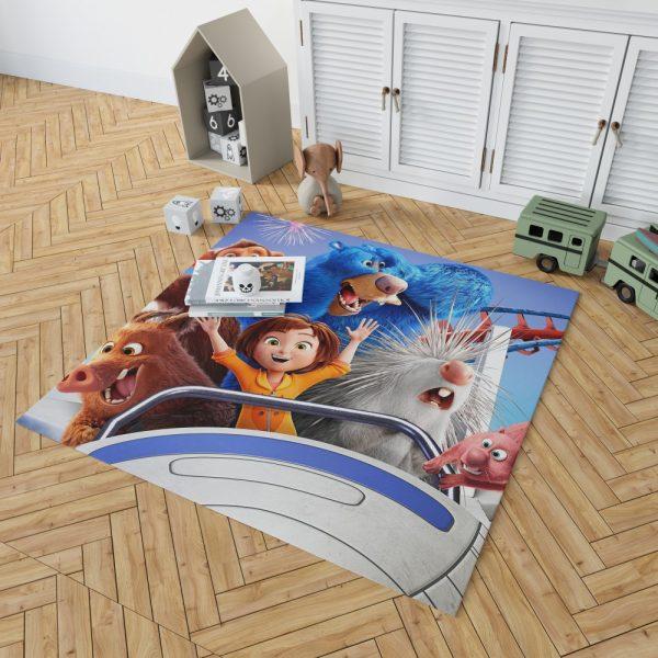 Wonder Park Movie Teens Bedroom Living Room Floor Carpet Rug 2