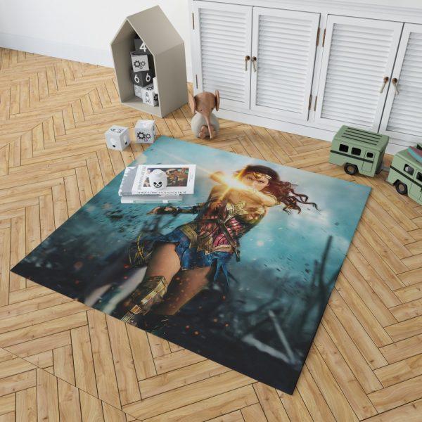 Wonder Woman Diana Prince Gal Gadot Bedroom Living Room Floor Carpet Rug 2