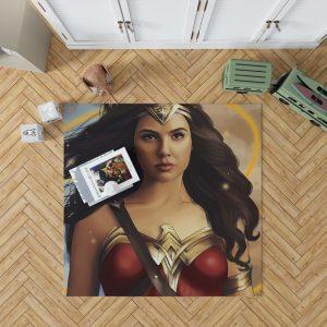 Wonder Woman Movie DC Comics Gal Gadot Woman Warrior Bedroom Living Room Floor Carpet Rug 1