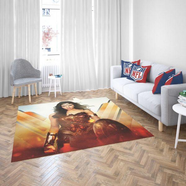 Wonder Woman Rise of the Warrior Movie Bedroom Living Room Floor Carpet Rug 3