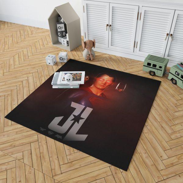 Wonder Woman Superman Batman Bedroom Living Room Floor Carpet Rug 2