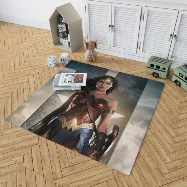 Wonder Women Justice League Bedroom Living Room Floor Carpet Rug 2