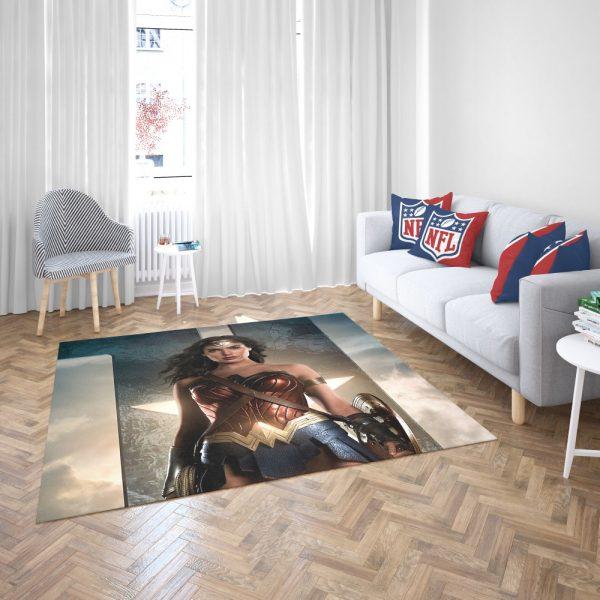 Wonder Women Justice League Bedroom Living Room Floor Carpet Rug 3