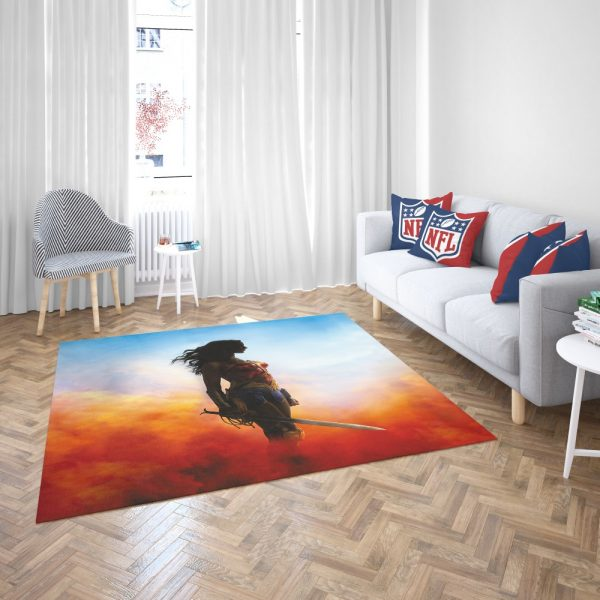 Wonder Women Teen Girls Bedroom Living Room Floor Carpet Rug 3
