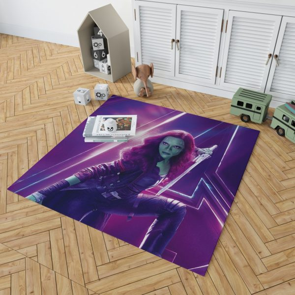 Zoe Saldana Gamora Avengers Infinity War Bedroom Living Room Floor Carpet Rug 2