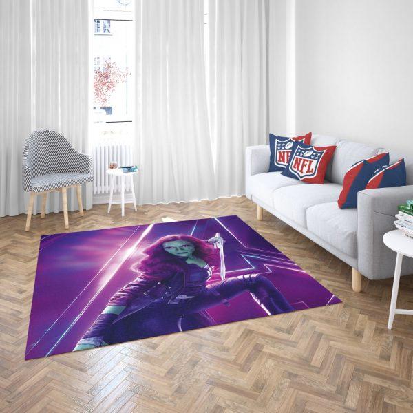 Zoe Saldana Gamora Avengers Infinity War Bedroom Living Room Floor Carpet Rug 3