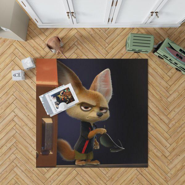 Zootopia Movie Finnick Bedroom Living Room Floor Carpet Rug 1