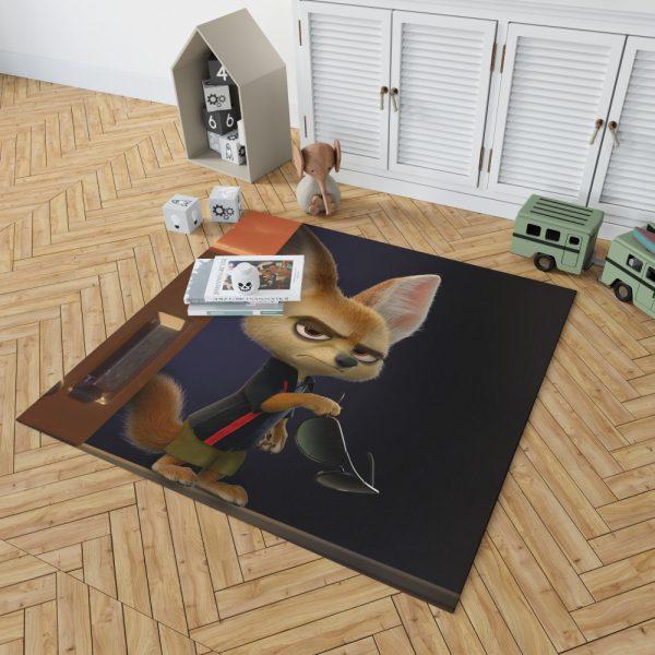Zootopia Movie Finnick Bedroom Living Room Floor Carpet Rug 2