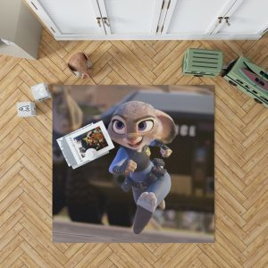 Zootopia Movie Judy Hopps Bedroom Living Room Floor Carpet Rug 1