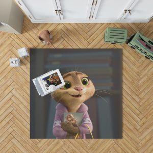 Zootopia Movie Mrs Otterton Bedroom Living Room Floor Carpet Rug 1