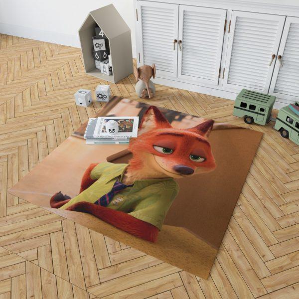 Zootopia Movie Nick Wilde Bedroom Living Room Floor Carpet Rug 2