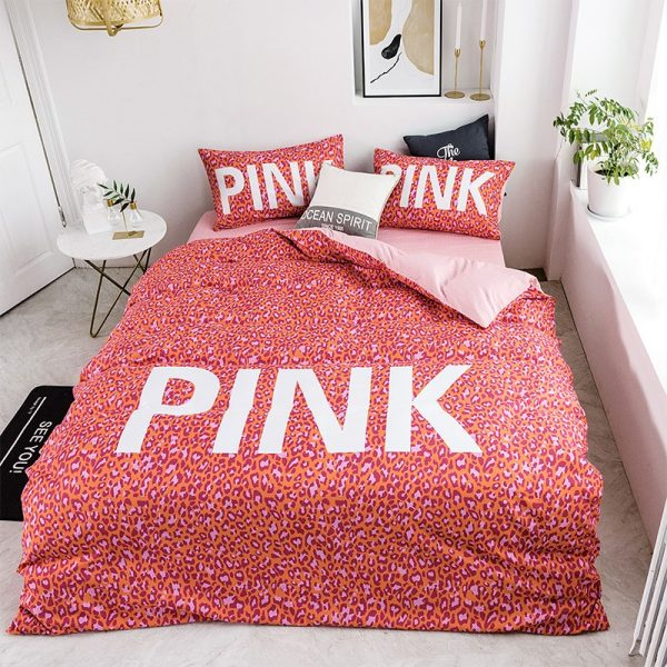 Awesome Victoria Secret Pink Bedding Comforter Set