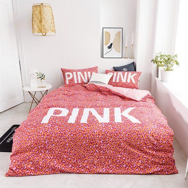 Awesome Victoria Secret Pink Bedding Comforter Set 10