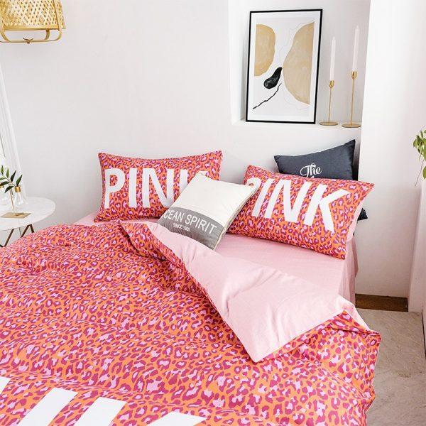 Awesome Victoria Secret Pink Bedding Comforter Set 2