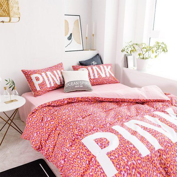 Awesome Victoria Secret Pink Bedding Comforter Set 5