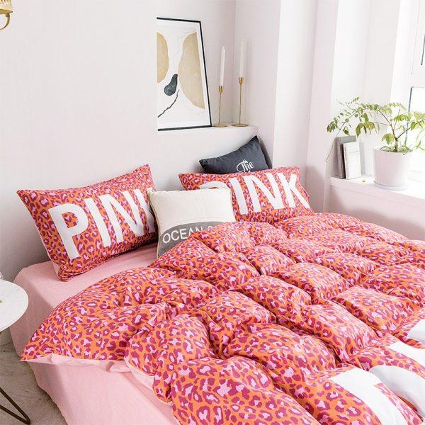Awesome Victoria Secret Pink Bedding Comforter Set 6