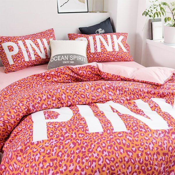 Awesome Victoria Secret Pink Bedding Comforter Set 7