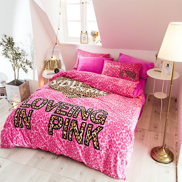 Brand Pink Victorias Secret Bed Set Queen Size 10
