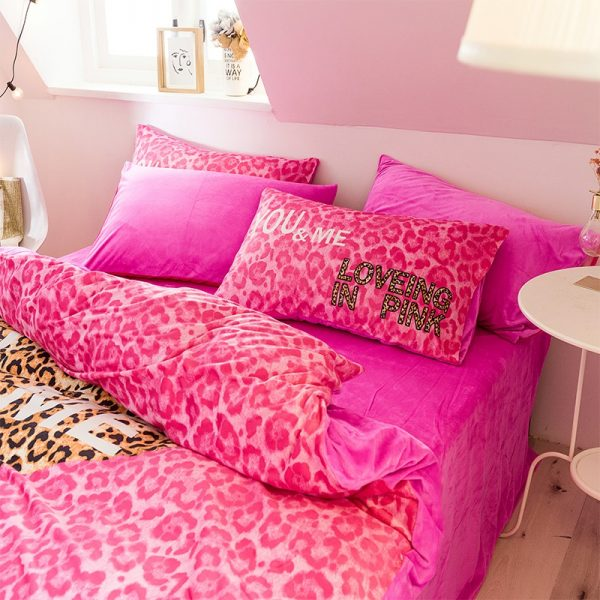 Brand Pink Victorias Secret Bed Set Queen Size 5