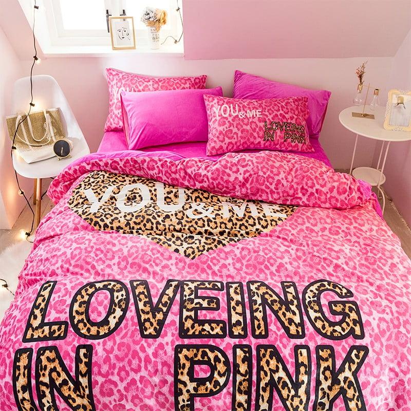 Brand Pink Victoria Secret Bed Set Queen Size