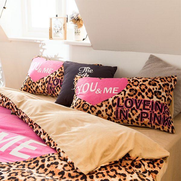 Girls Bedding Set Pink Victorias Secret Queen Size 3