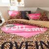 Girls Bedding Set Pink Victorias Secret Queen Size 5