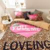Girls Bedding Set Pink Victorias Secret Queen Size 6
