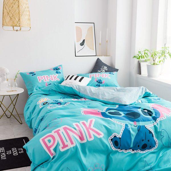Girls Victoria Secret Pink Queen Bedding Set 3