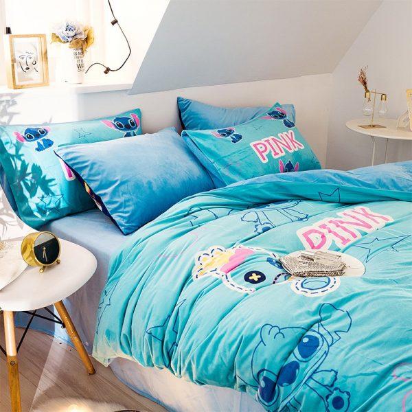 Pink Comforter Set Victorias Secret Queen 5