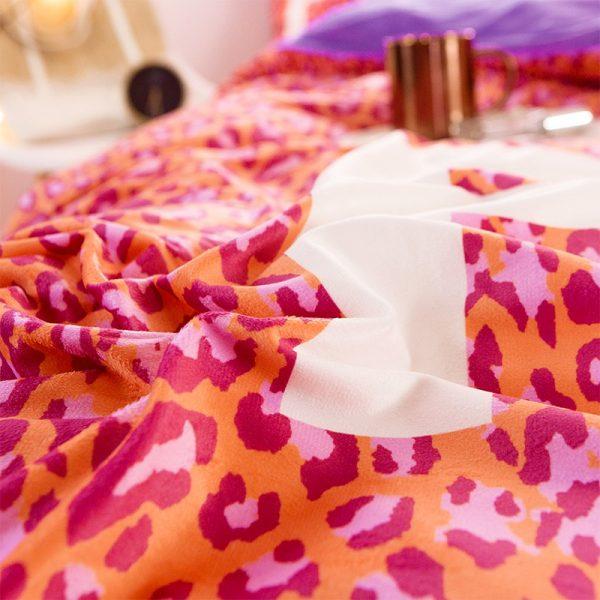 Pink Love Victorias Secret Bedding Set Queen 8