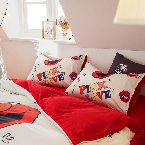 Pink Victoria Secret for Girls Bedding Set 11