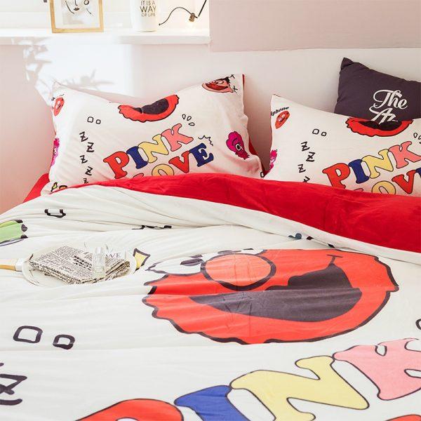 Pink Victoria Secret for Girls Bedding Set 2
