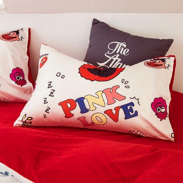 Pink Victoria Secret for Girls Bedding Set 9