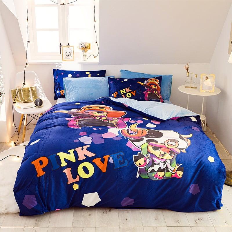 Queen Bed Bedding Set.Pink Victoria Secret Bed In Bag Bedding Set Queen