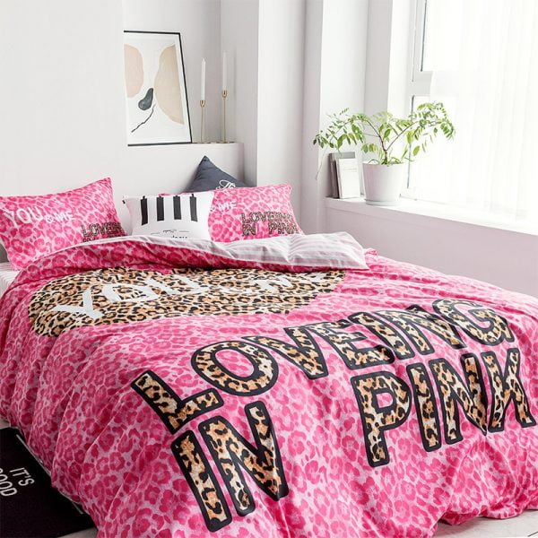 Pink by Victoria Secrets Bedding Queen Size Set 2