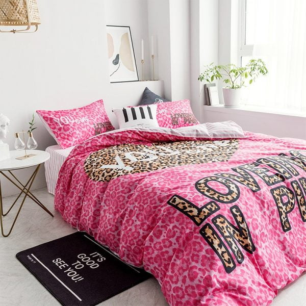 Pink by Victoria Secrets Bedding Queen Size Set 3