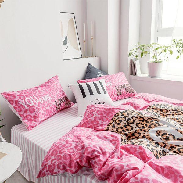 Pink by Victoria Secrets Bedding Queen Size Set 6