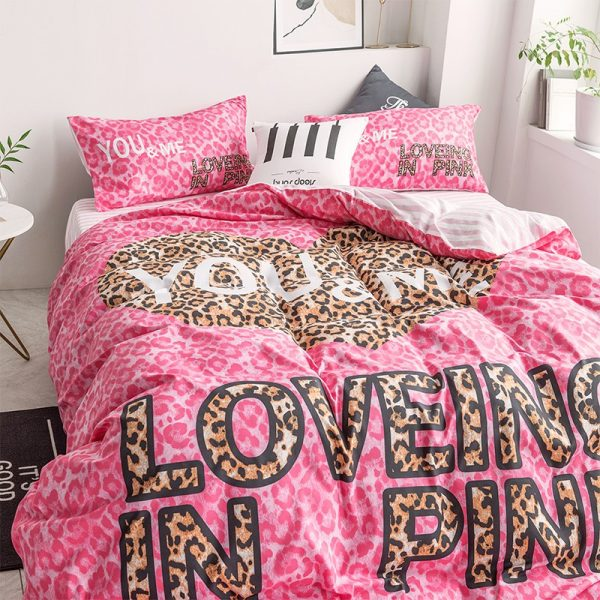 Pink by Victoria Secrets Bedding Queen Size Set 8