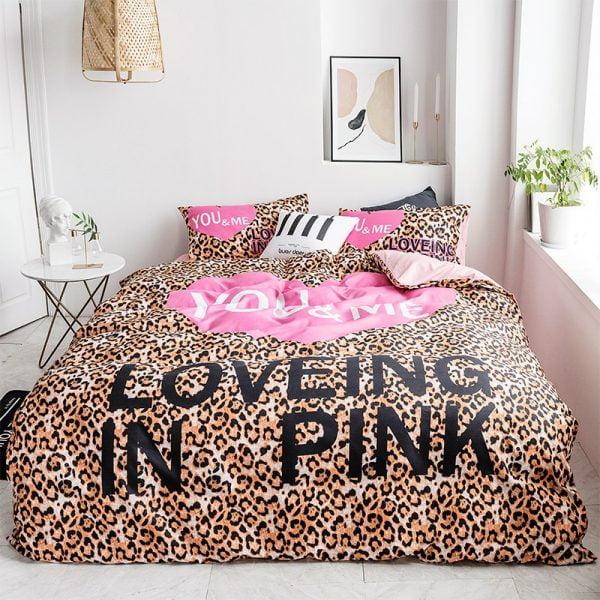 Pink by Victoria Secrets Queen Bedding Set